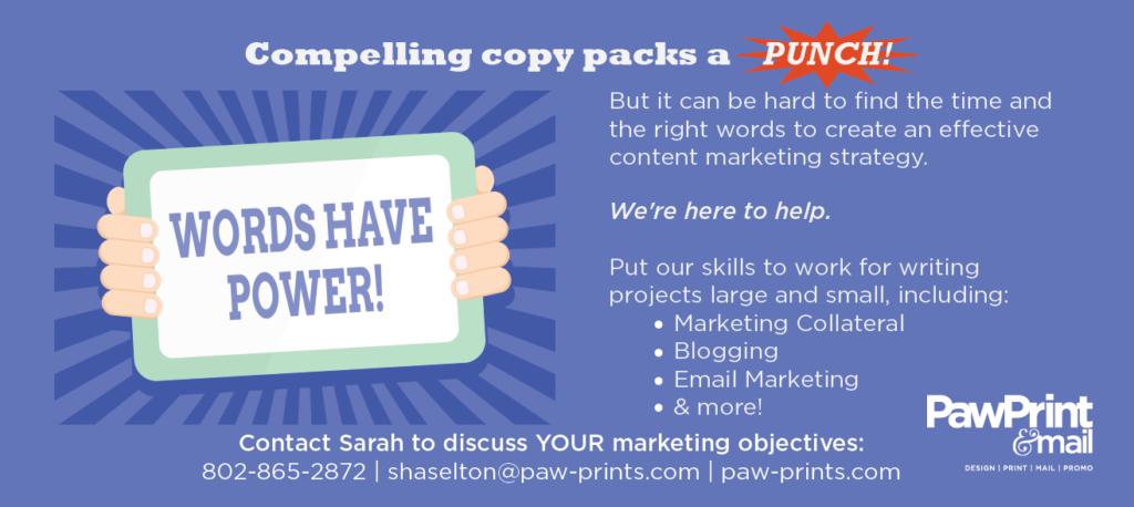 Copy writing ad