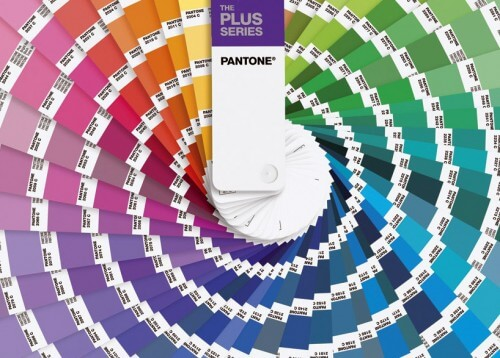 pantone color wheel