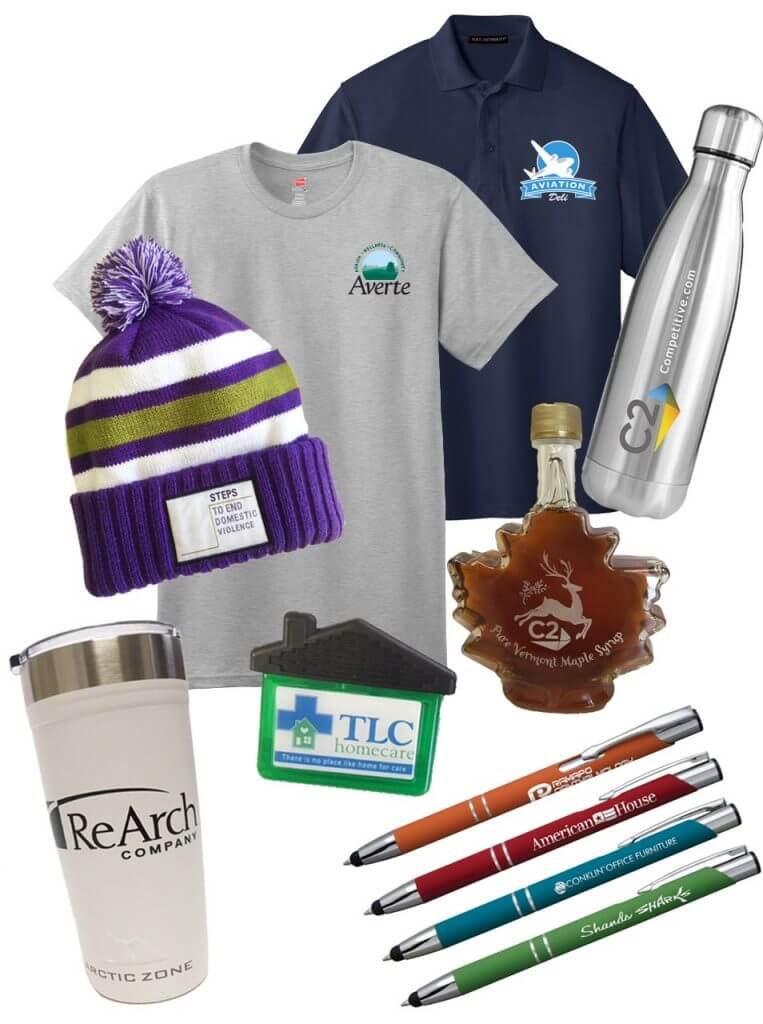 Collage of Promotional Products