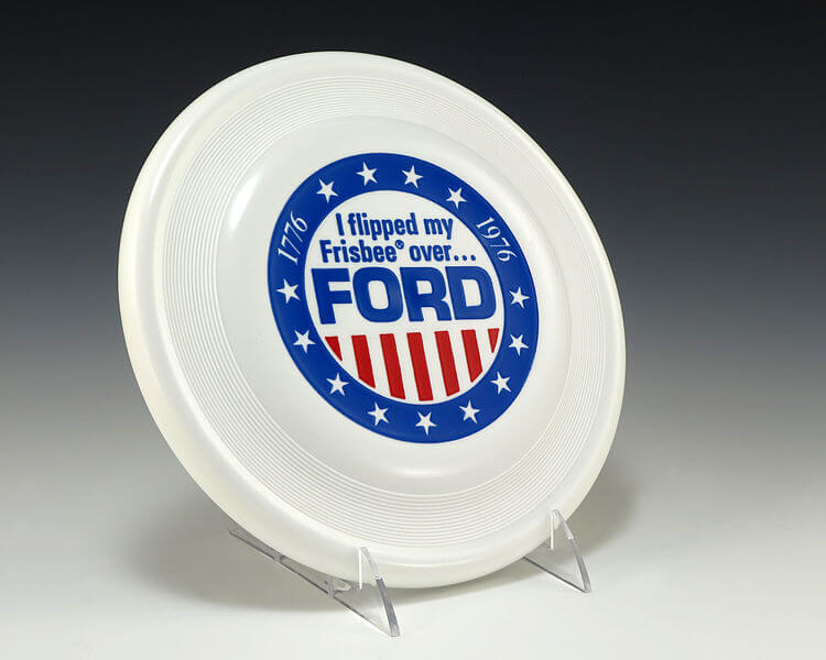 1976 Presidential Campaign Branded Frisbee