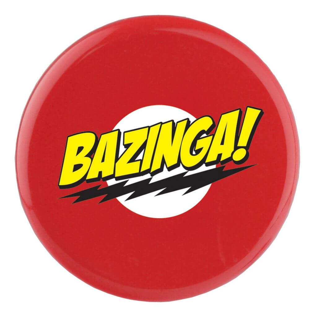 Red branded frisbee