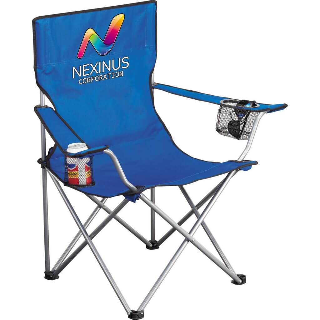 Folding Camp Chair with Logo