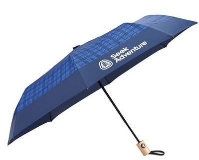 Blue Umbrella with Logo