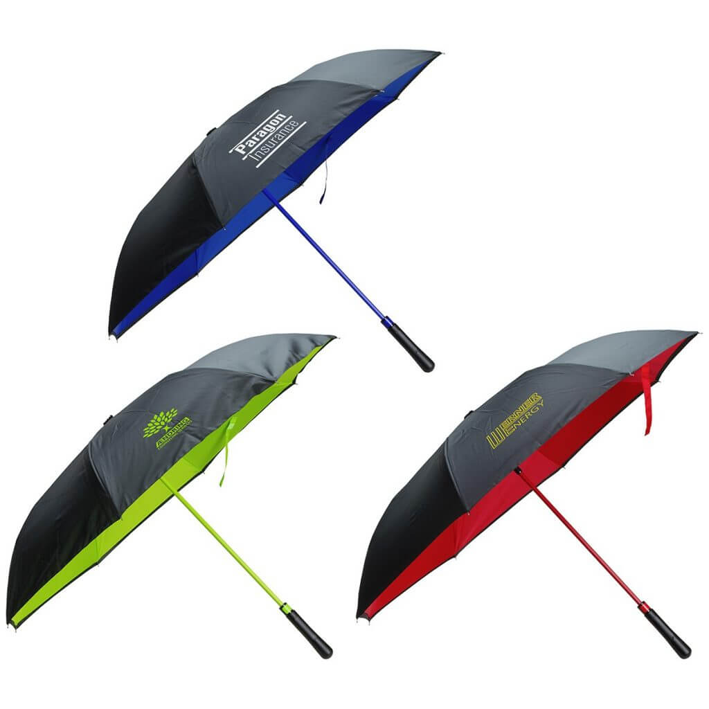 Two Tone Umbrellas