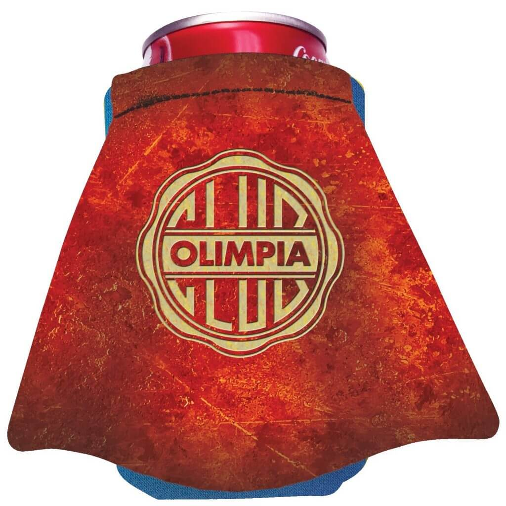 Branded Koozie with Cape Decoration