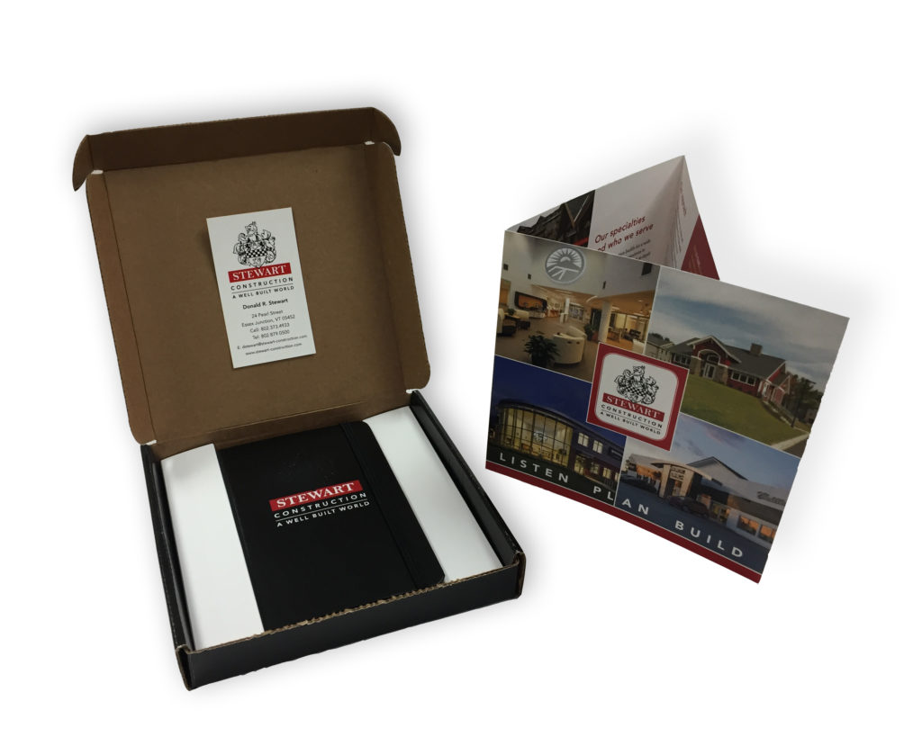 Direct mail piece with promotional item