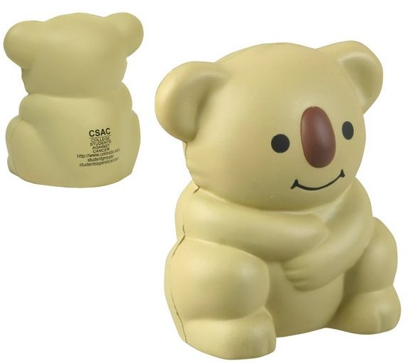 Branded Stress Reliever Koala Bear