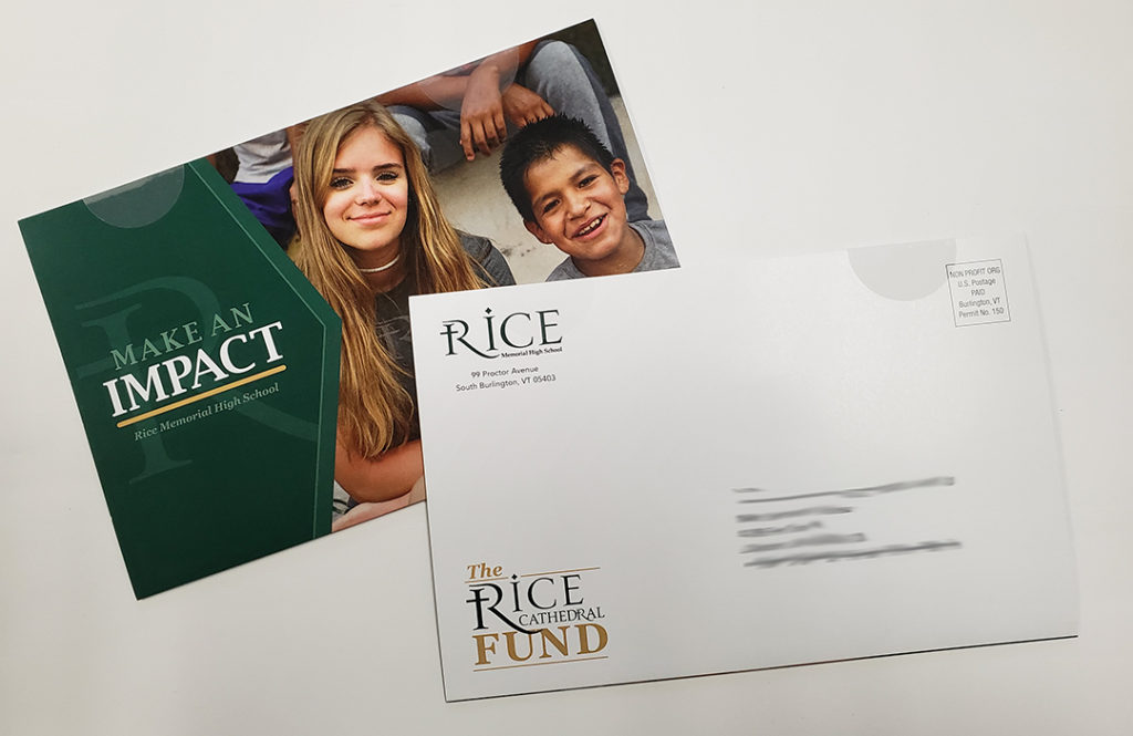 Rice High School self mailer