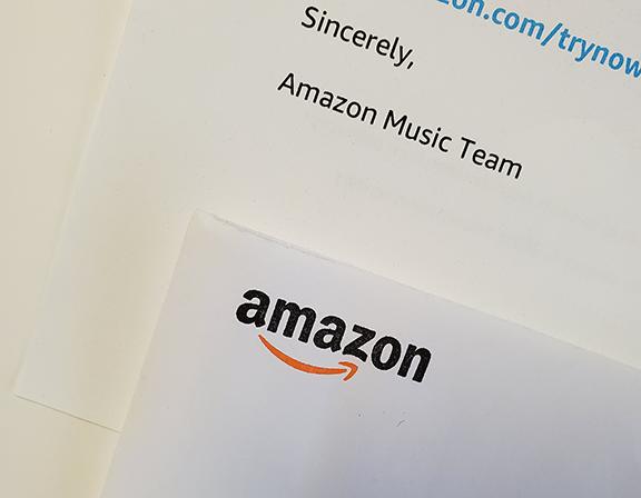 Amazon Direct Mail Envelope